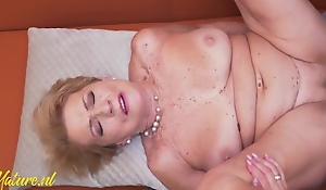 Hot Granny Wants A Toyboy Dick Up Her Hairy Pussy