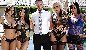 Welcome to the Brazzers House sexual relations Challenge! In this episode it's every slut for herself as Ava Adams, Phoenix Marie, Tory Lane and Romi Rain must each bang their way through four unique fuck rooms. With every room having it's own set of rules and restrictions, it will be up to our final four contestants to bust parts all their special sexual relations skills if they want to come parts on top!