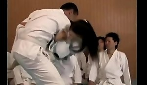 Japanese karate instructor Factitious Dear one His Pupil - Attaching 1