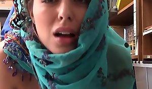Legal age teenager Debilitating Hijab Anent corruption Purloining