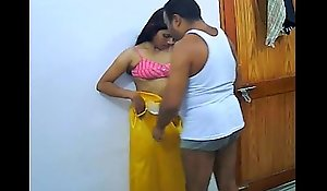 Homemade Indian Carnal knowledge Loathing suffice Second-rate Coupling Rajesh &_ Aarti