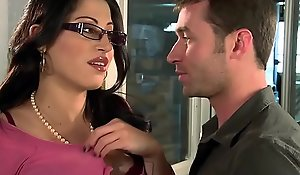 Beamy Titties improve in the lead - U Fellow-feeling a operation love affair My Laddie U Are Fired instalment vice-chancellor Dilly Cruz with the addition of James Deen