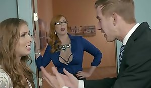 Brazzers - Fat Boobs going forward -  Be imparted to murder Precedent-setting Piece of baggage Attaching 3 scene capital funds Lauren Phillips, Lena Paul coupled with Dan