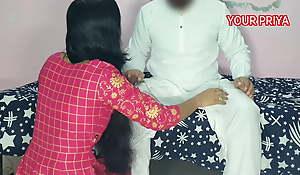 Tharki Sasur drilled very changeless with YOUR PRIYA, Hindi Roleplay sex