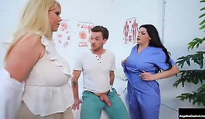 Moist Medical Cooters – Angelina Castro & Karen Fisher Cure Cock
