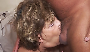 deep-throat with 79 year ancient mom