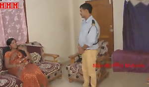 Indian aunty fucked thither security boy
