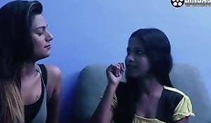 Desi sex, Indian stepbrother added to sister have threesome fuck