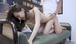 Chinese ex-gf spends the night