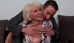 Order about granny drilled added to jizzed mainly hairypussy