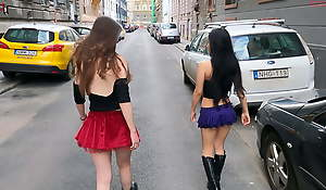 Dollscult - Lesbian sex in public