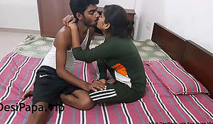 Indian College Girl Setting up Love Concerning Her Boyfriend