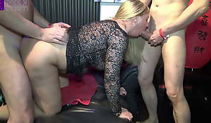 Convenient a party, all my 3 holes were fucked hard! Part 1